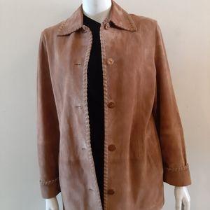💥Host pick💥 Suede camel jacket boho chic style